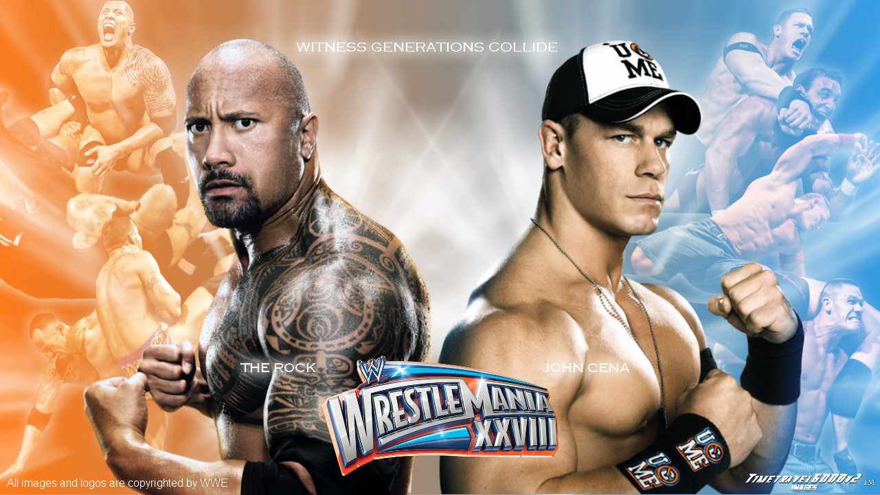The Rock Vs John Cena Players Comparison