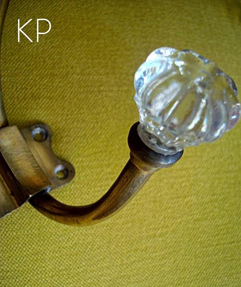 Colgador vintage original y decorativo