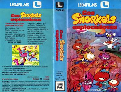 Los Snorkels Dibujos Animados Infantiles