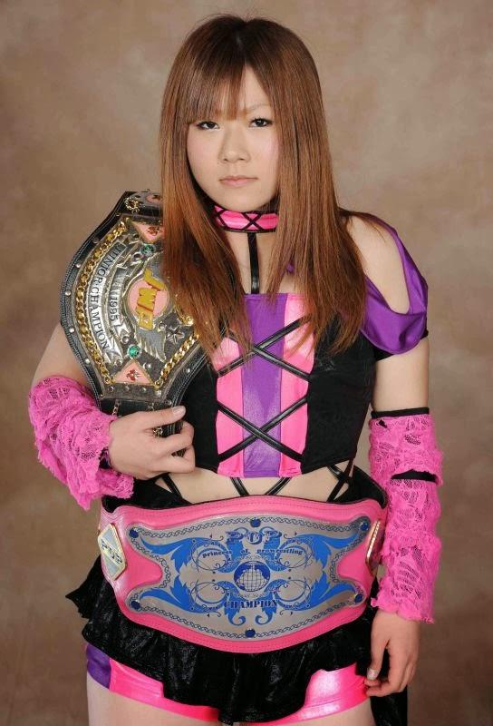 Manami Katsu – Japanese Female Wrestling
