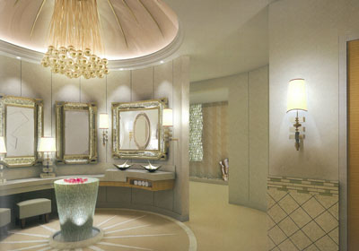 ANTILLA BATHROOM MUKESH AMBANI