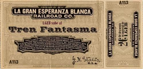 disco LA GRAN ESPERANZA BLANCA - Tren fantasma 3