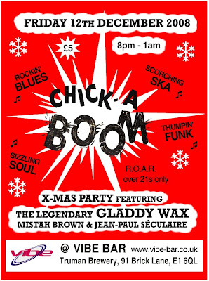 Chick-A-Boom flyer