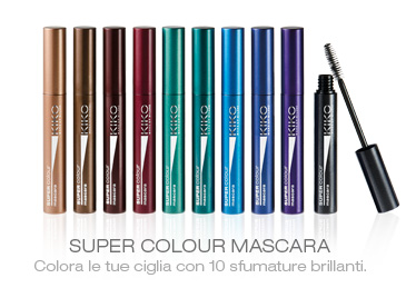 mascara colorati Kiko