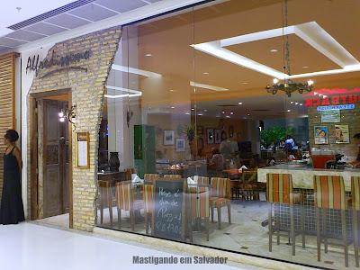 Restaurante Alfredíssimo: Fachada