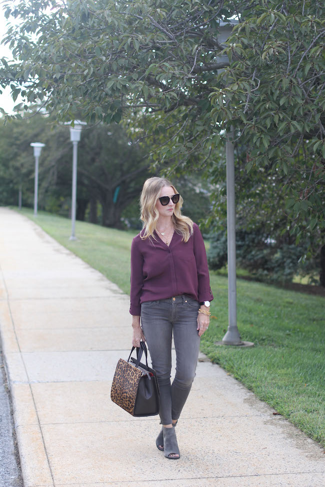 prada sunglasses, trouve shirt, citizens of humanity jeans, stuart weitzman booties, boden bag