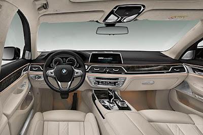 2016 BMW 7 Series Rendering