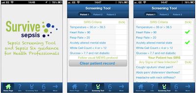 app survive sepsis