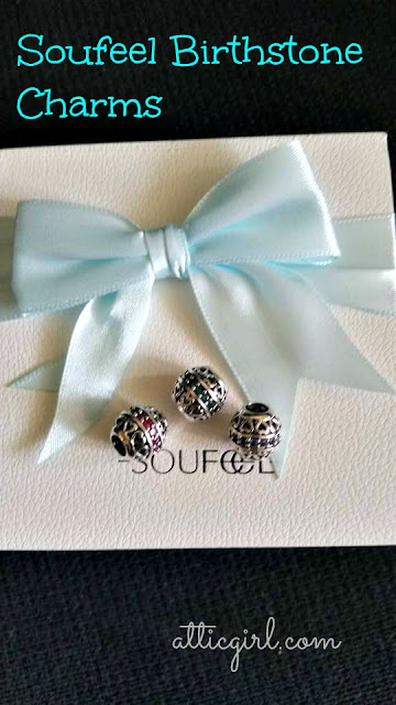 Soufeel Birthstone Charms