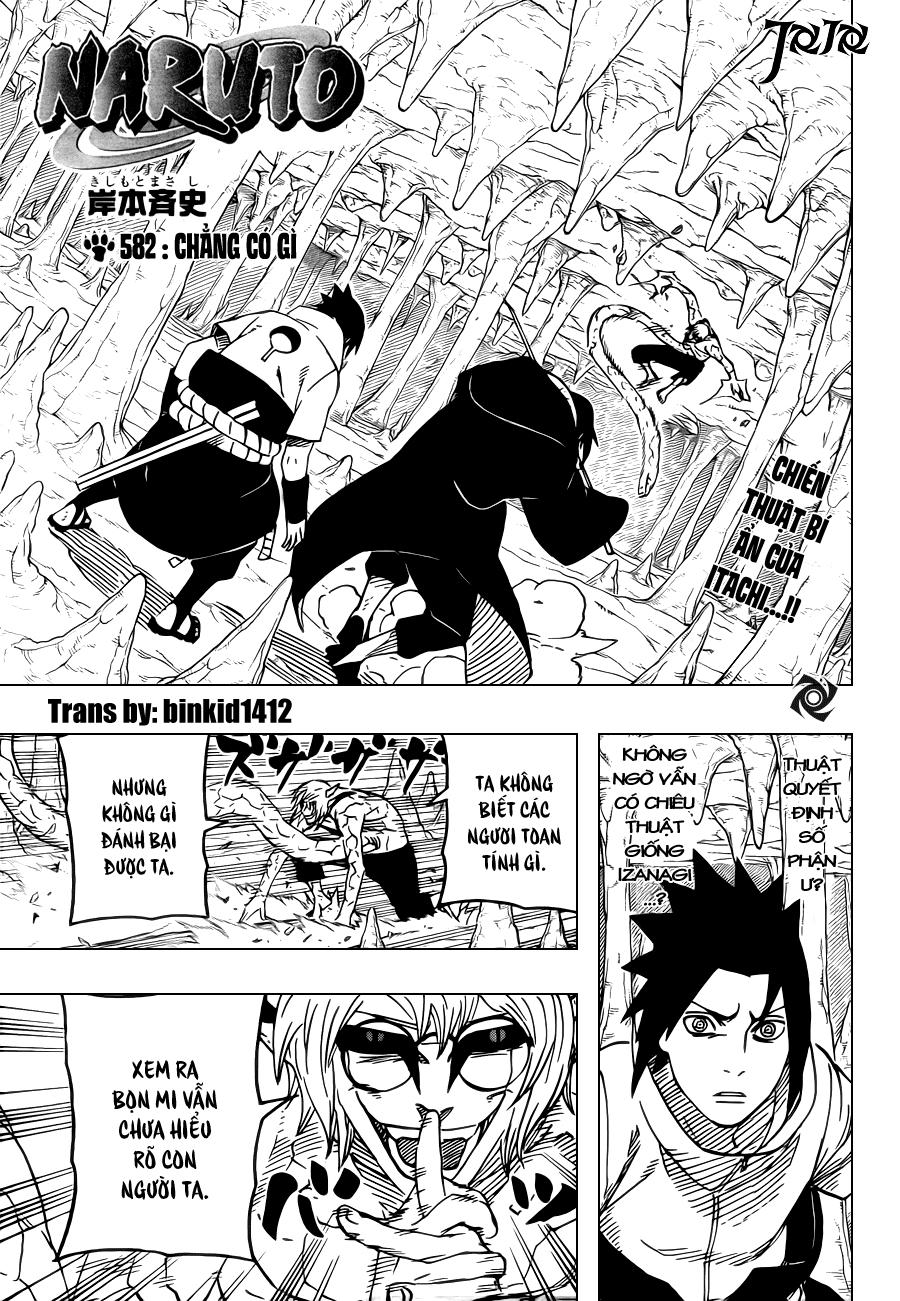 Naruto chap 582 Trang 1 - Mangak.info