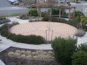 Trinity Gardens labyrinth Ashland Oregon