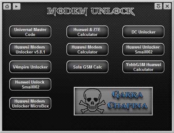 Modem Unlock