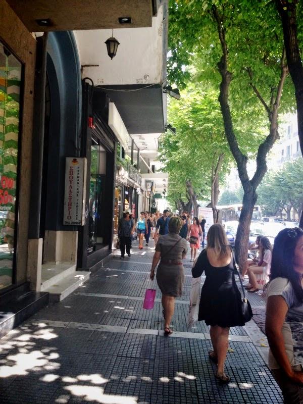 Thessalonique: pleine de vie!