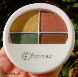 Review Flormar Quartet Eye Shadow 408