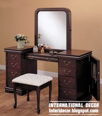 MDF dressing table in classic design, buy dressing table