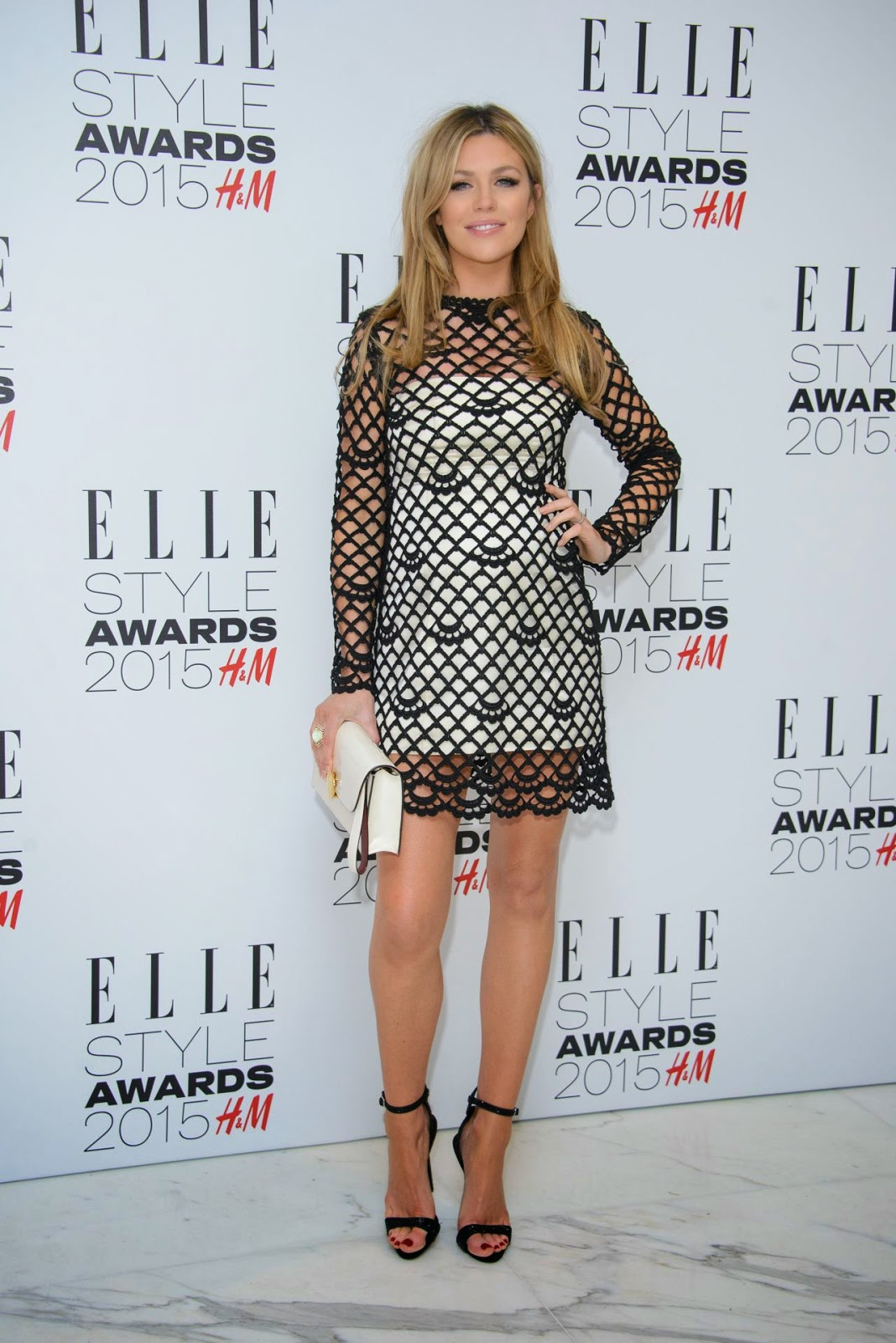 Abbey Clancy – 2015 Elle Style Awards in London