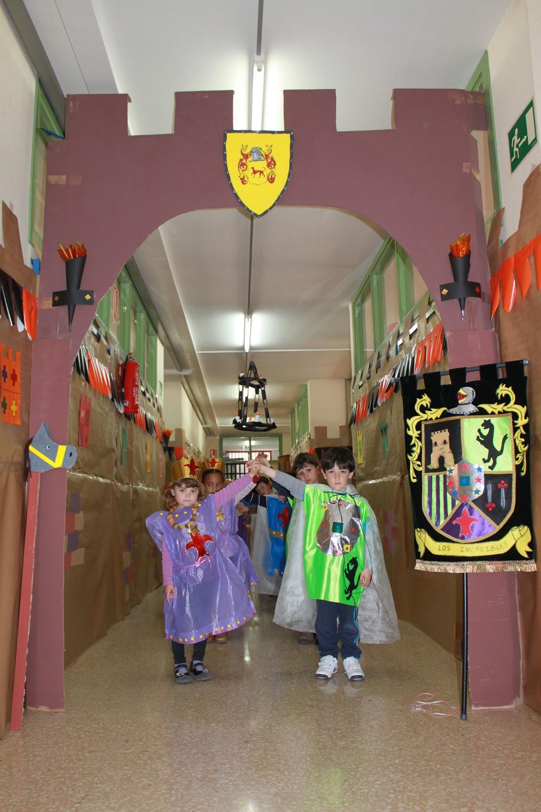 Los castillos medievales caballeros y princesas for Proyecto de comedor infantil
