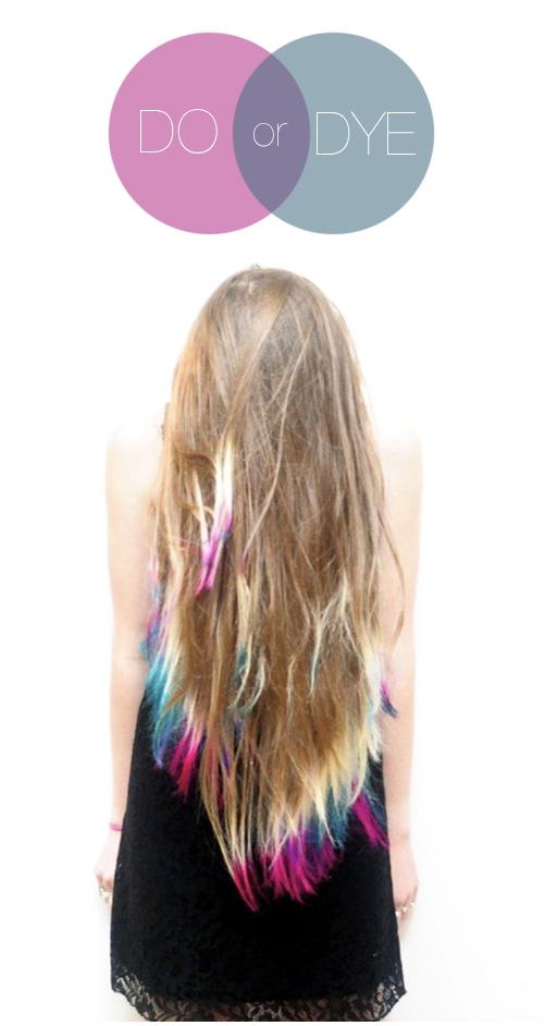 Окрашивание кончиков на русые волосы