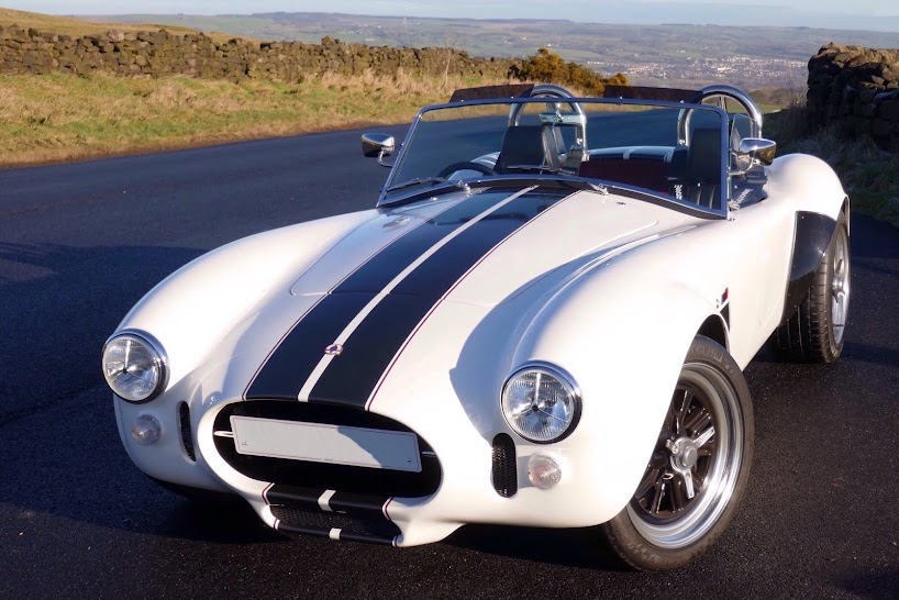 How to build a Gardner Douglas 427 AC Cobra replica classic sports car