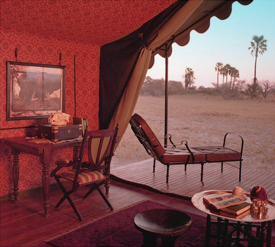 Safari Fusion blog | African Marsala | Old world charm at Jack's Camp, Makgadikgadii Pans Botswana