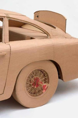 Cardboard creations vehicles