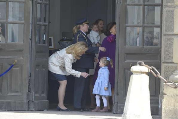 Crown Princess Victoria, Prince Carl Philip and Princess Madeleine.