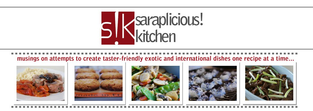 Saraplicious!  Kitchen
