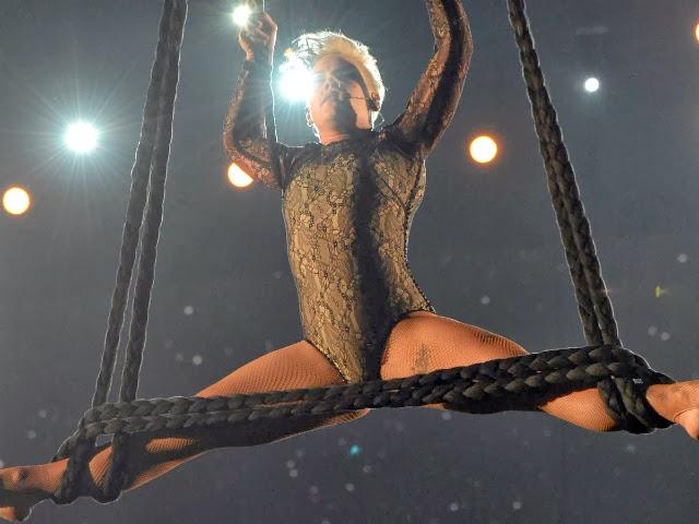 Los mejores momentos del 56 Grammy Awards Pink