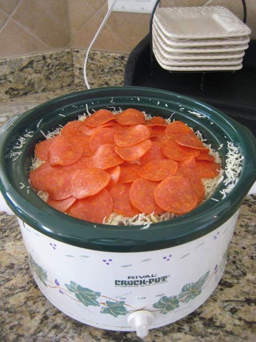 Crock Pot Pizza Recipe
