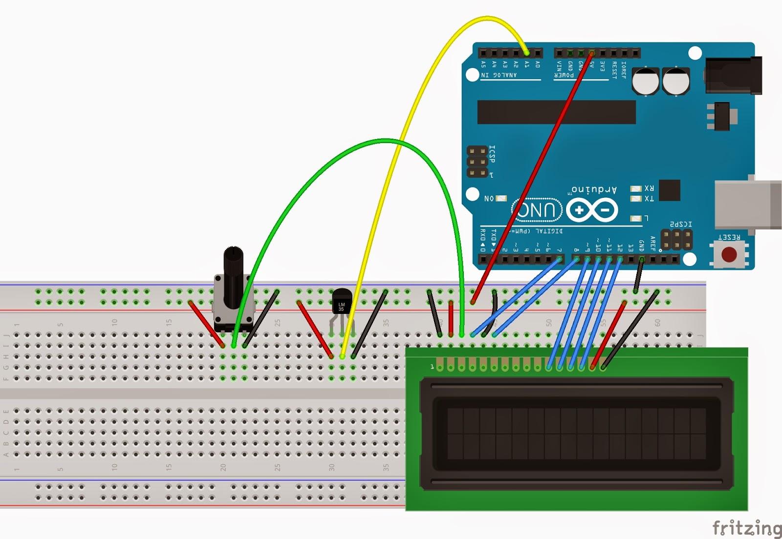 Arduino lm İle termometre yapımı elektrik elektronik