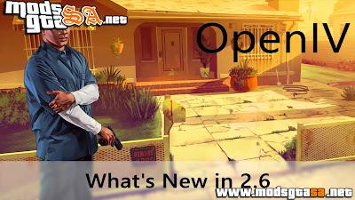 V - OpenIV 2.6