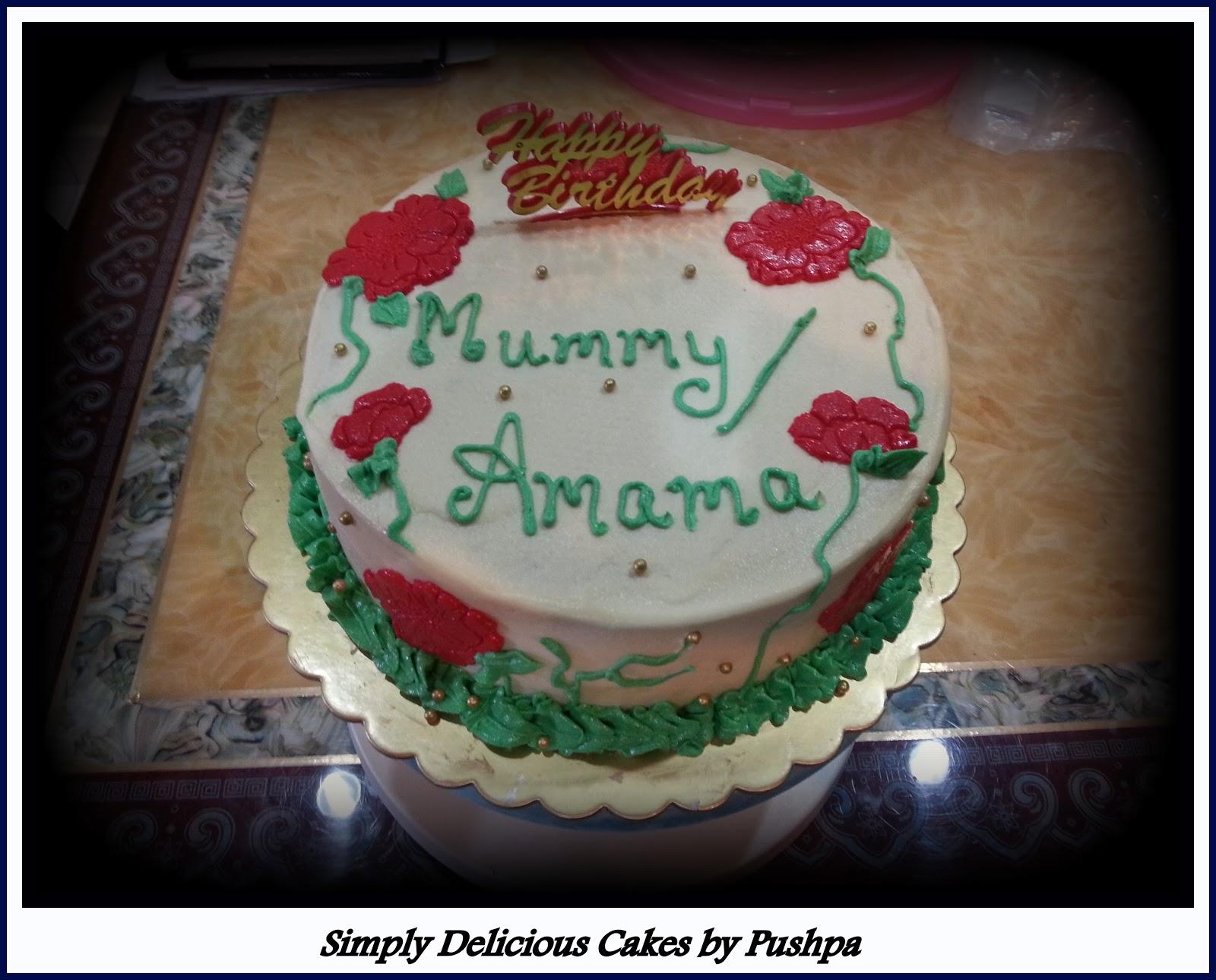 February Birthday Cakes Simply Delicious Cakes Birthday Cake For Mummy