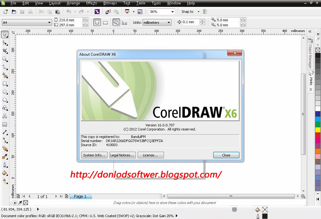 "CorelDraw X6 Full Keygen ~ BAGAS31.COM ""Tempatnya Download"