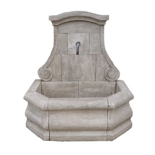Fontaine de jardin murale vasque en terre cuite | Fontaine de Jardin