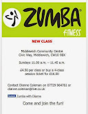 ZUMBA IN MIDDLEWICH 2015
