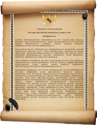 TEK PEMBUKAAN UNDANG-UNDANG DASAR 1945 (UUD 45)