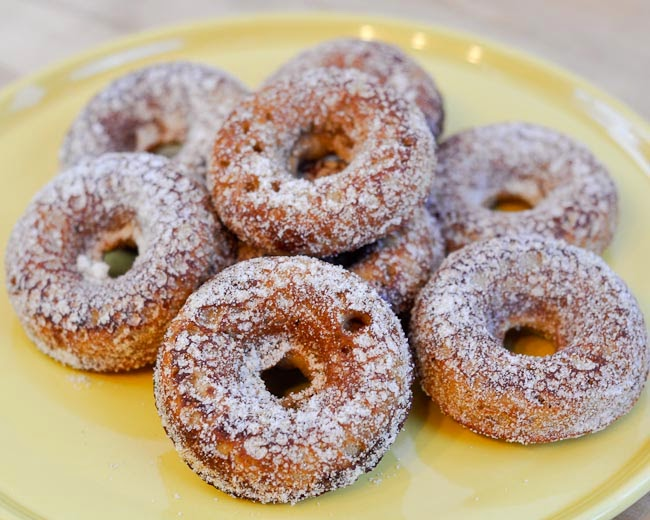 Beki Cook's Cake Blog: Apple Cider Doughnuts {Recipe}