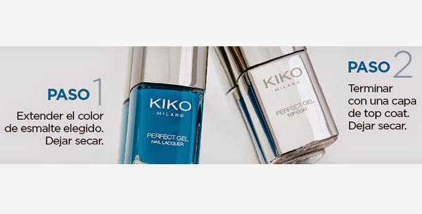 pintauñas + top coat Perfect Gel Duo Kiko primavera verano