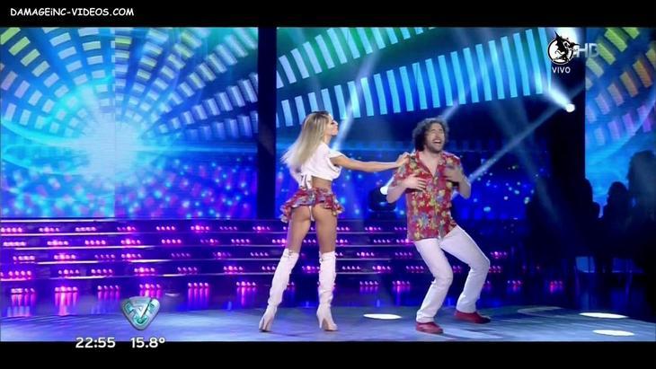 Macarena Rinaldi white thong upskirt damageinc-videos HD