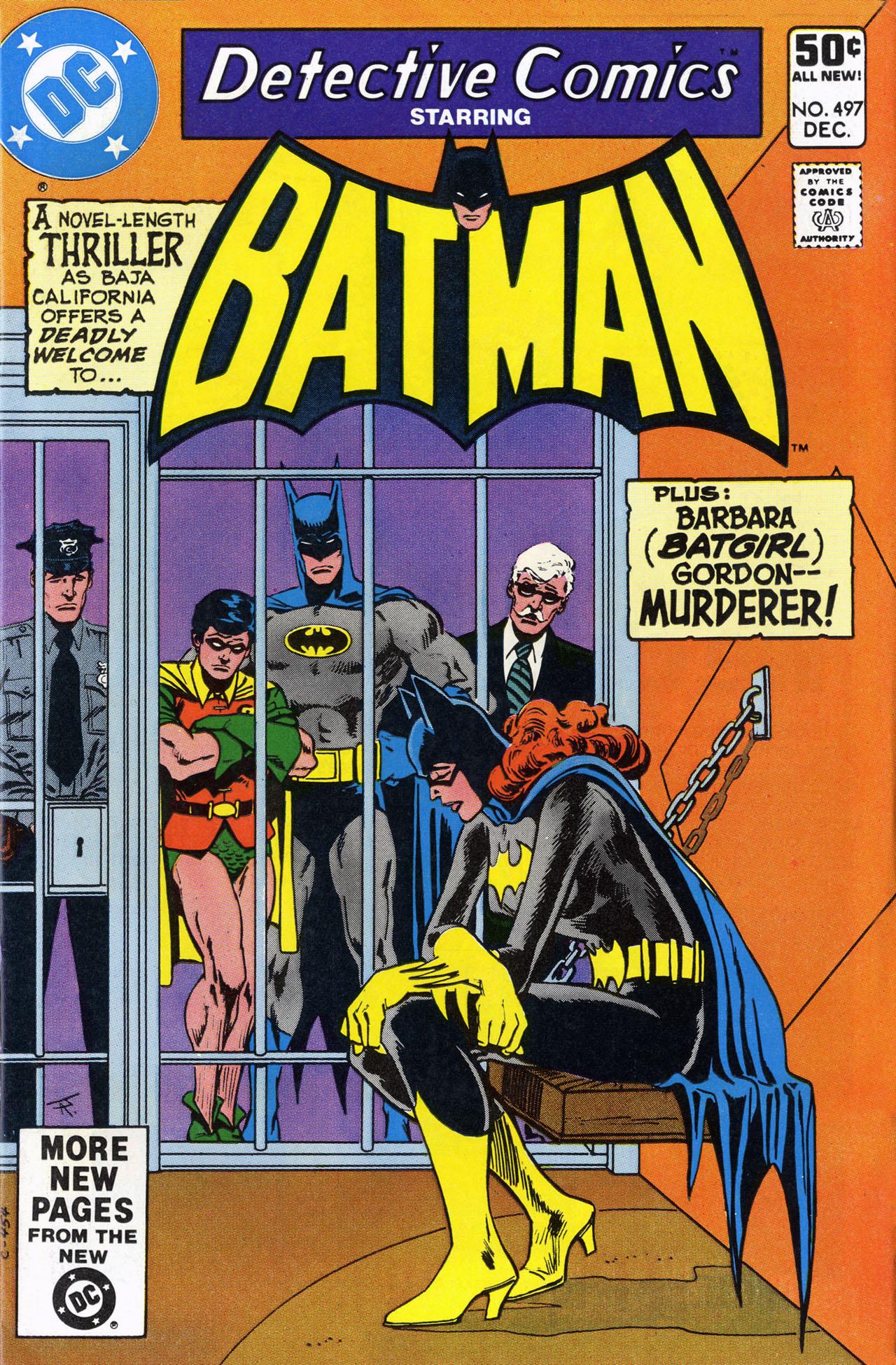 Detective Comics (1937) 497 Page 1