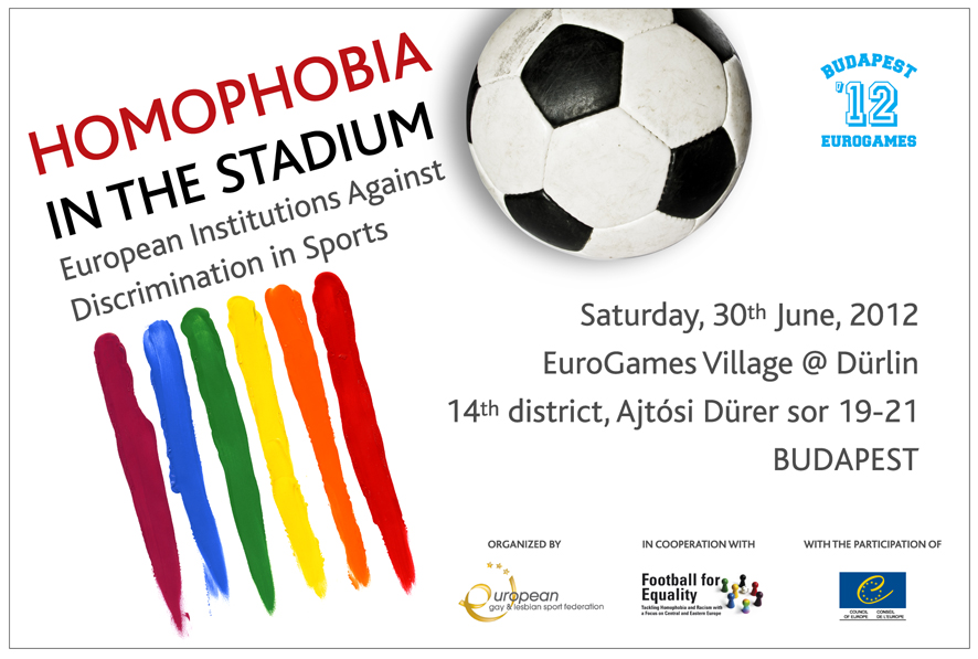 The European Gay and Lesbian Sports Federation, in occasion of EuroGames ...