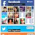 Box Com Twitter, Facebook e RSS Com Efeito Hover - Versão #2