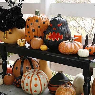 Halloween Pumpkins for your home