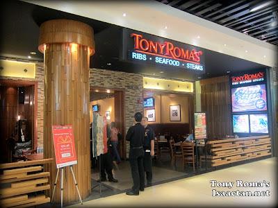 Tony Roma's Pavilion KL