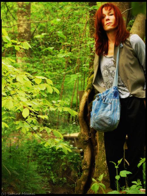 Psynopsis Lover Trousers New Look T-Shirt Topshop Blazer DIY Denim Bag