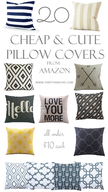 Great site for cute and cheap pillow covers