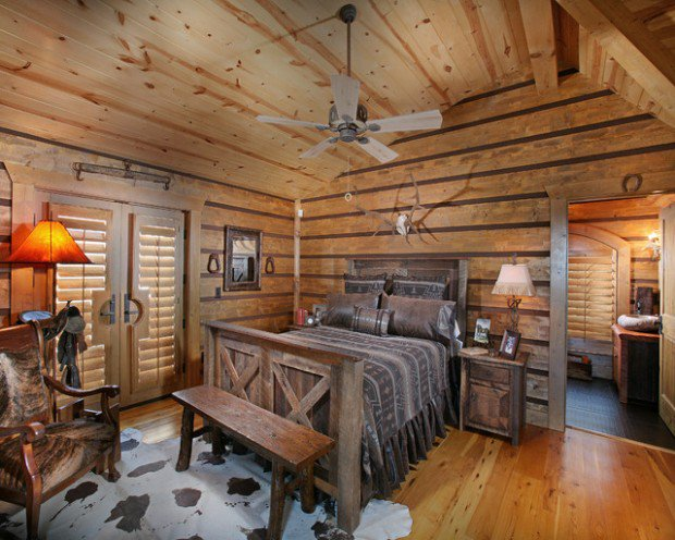 Superieur Here Is An Some Picture For Rustic Cabin Bedroom Decorating Ideas. Most  Importantly, Remember To Decorate Bedroom The Way You Want To And Not The  Way Others ...