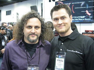 Steven Fies, Eric Barnett, Points North, NAMM, NAMM 2013, NAMM2013, Points North Band, Lead Guitar, Guitarist, Music