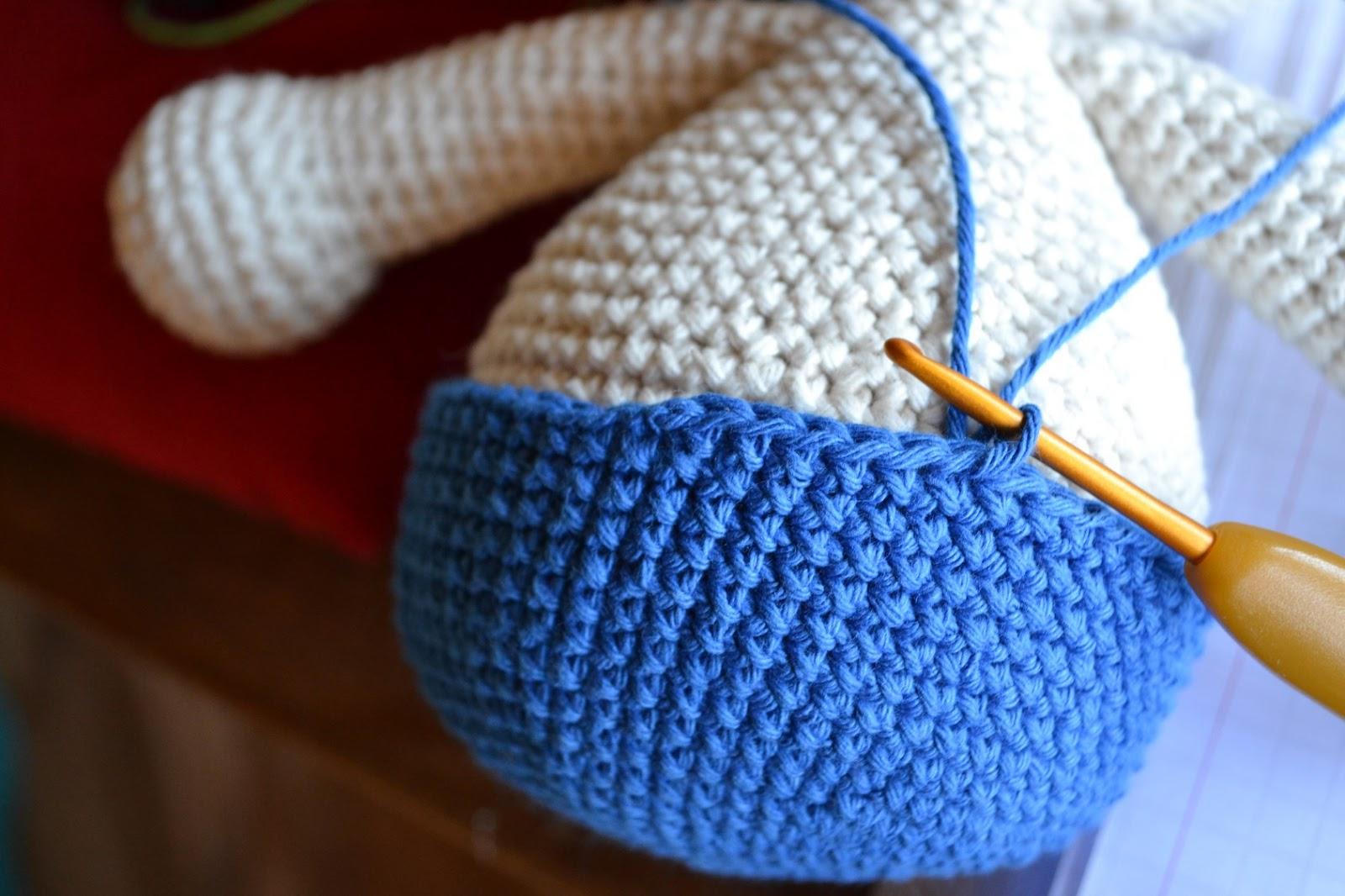 Encantador Los Patrones De Crochet Libre De Conejo Galería - Manta ...