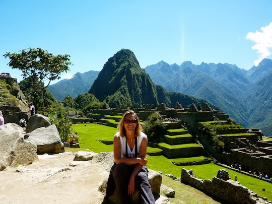 Holiday Nomad in Machu Picchu Inca Trail